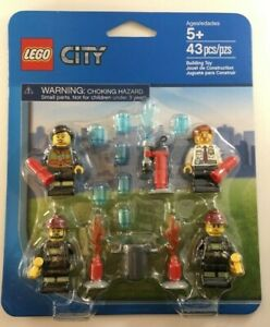 2013-LEGO-Fire-Pack-Set-accessory-City-sealed-4-minifigures-850618-NEW