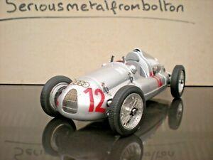 Cmc M 089 Auto Union Type D 1938/39 Gp France 1939 # 12 Argent 1:18