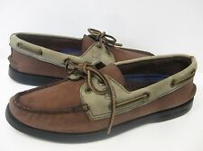 SPERRY TOP-SIDER Women's Authentic Original Leather Boat Shoe ~ Coffee/Ecru~ 7M