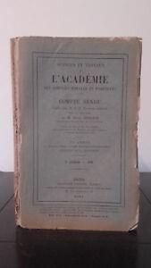 Ejercicio Y Trabajo ACADEMIA Las Ciencias Morales Y Politique - 1915 - N º 6
