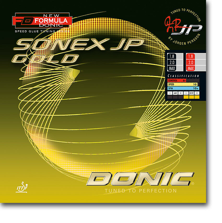 Donic Sonex JP Gold RevestiSieto de Ping Pong
