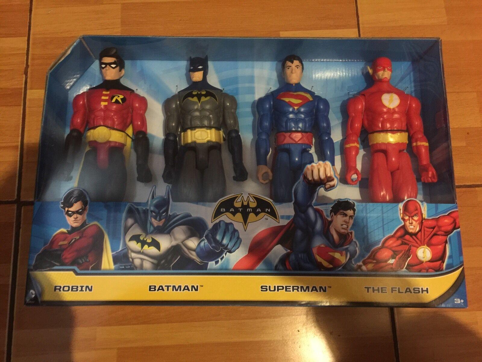 Batman 4 Piece 12 Inch Figure