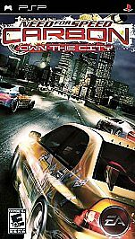 Need For Speed Carbon Own The City Sony Psp 2006 For Sale