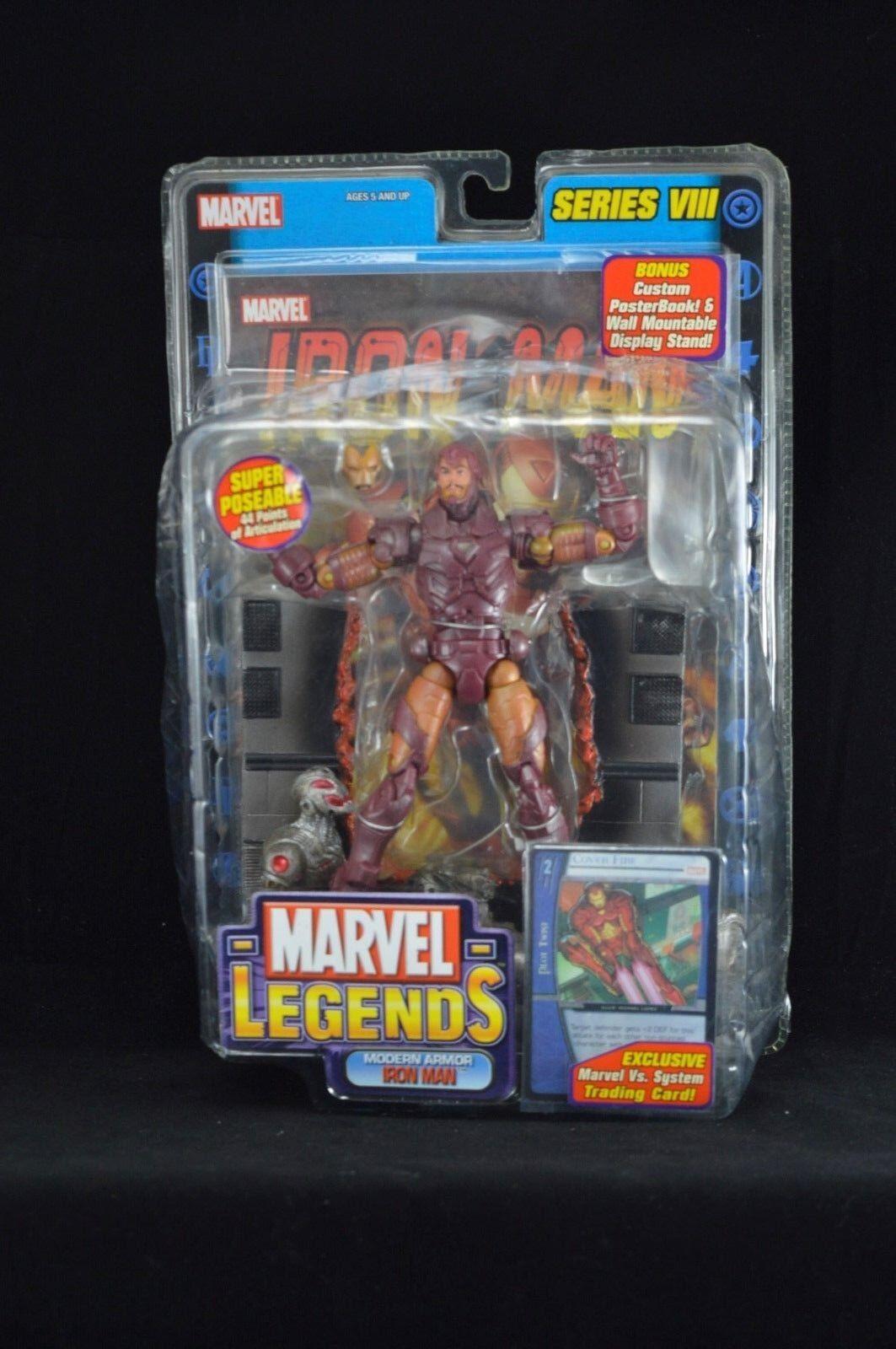 Marvel Legends Series VIII MODERN ARMOR IRON MAN MAN MAN New  Avengers Rare  e0b2cb
