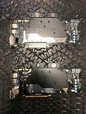 EVGA NVIDIA GeForce GTX TITAN Superclocked 6 GB w/ EK waterblock / backplate