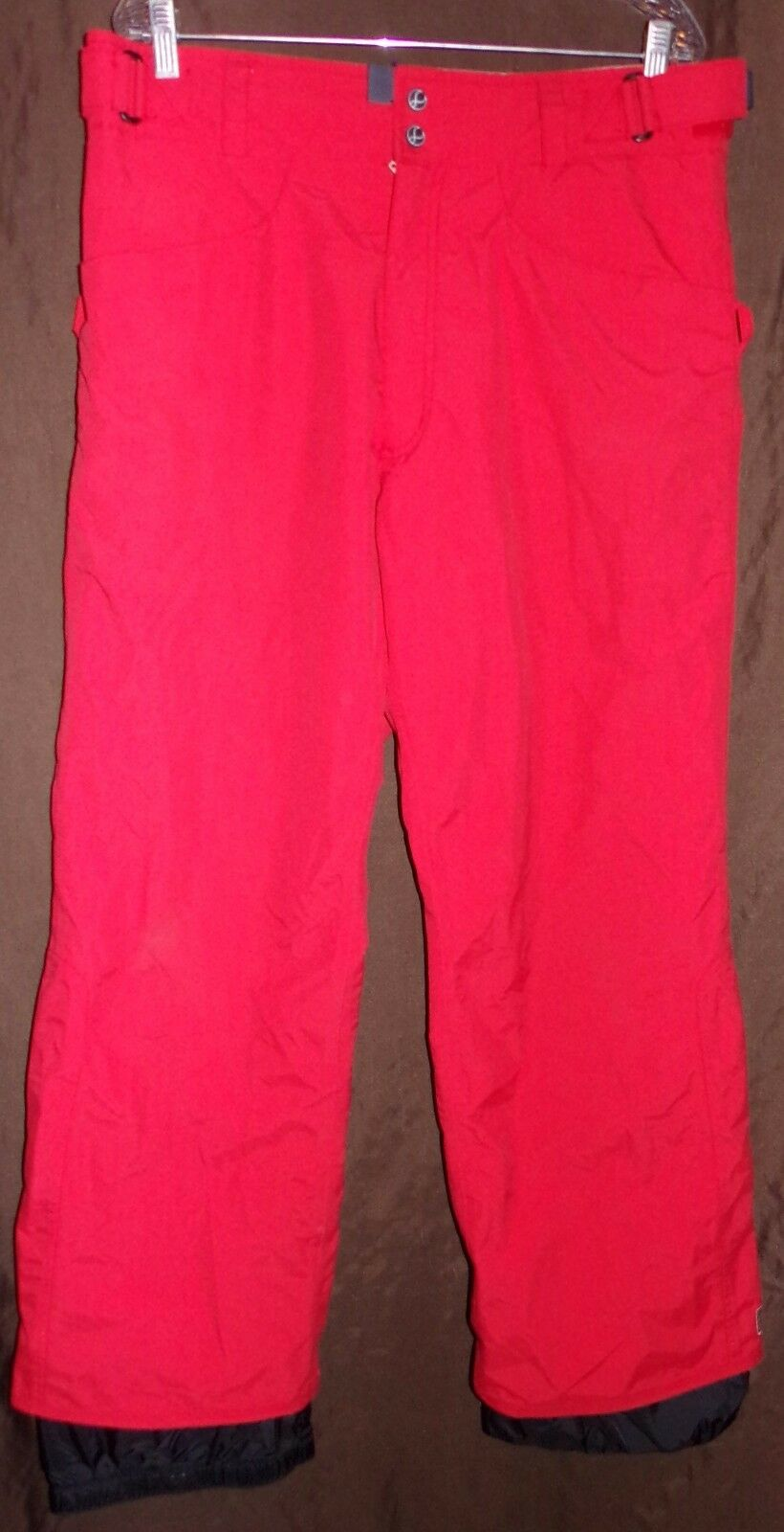 BURTON WOMENS BIOLITE WATERPROOF BREATHABLE TAPED SEAMS MESH LINED PANTS LARGE