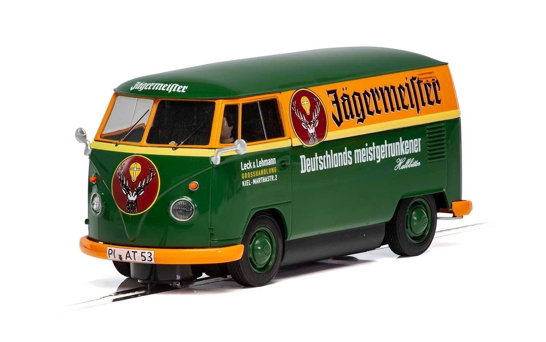 C3938 Scalextric VW Panel Van T1b - Green & orange - New & Boxed