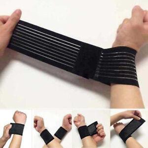 15inch Support Gym Strap Elastic Bandage Palm Wrap Hand Brace