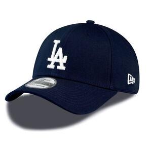 NEW ERA 39THIRTY BASEBALL CAP.MLB LA DODGERS LEAGUE ESSENTIAL NAVY ... 3690e241cb5