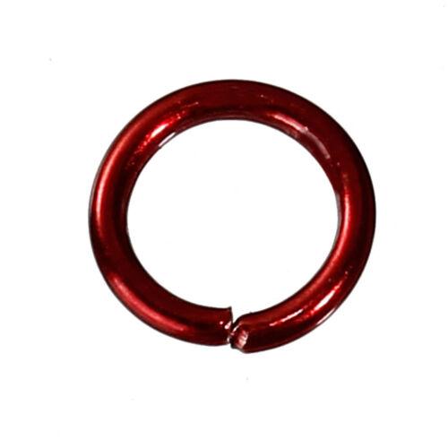 6mm 8mm Multicolor opened Jump rings jewelry findings Connectors DIY k20