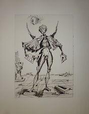 Coutaud Lucien gravure 1946 surrealisme Abstraction art abstrait théâtre