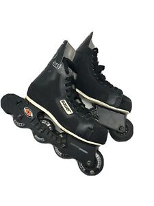 VINTAGE-BAUER-OFF-ICE-H1-HOCKEY-Inline-Skates-NHL-Size-7-E