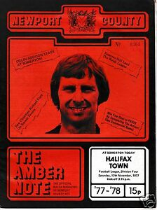 NEWPORT-COUNTY-V-HALIFAX-TOWN-4TH-DIVISION-12-11-77