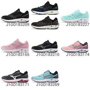 Mizuno-Wave-Rider-22-Wide-Womens-Cloudwave-Running-Shoes-Sneakers-Pick-1