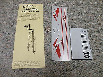 Scale-master decals 1//144 Boeing 727-14 Pacific Southwest Airline PSA   QQ2