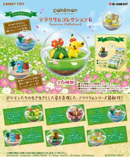 Pokemon Terrarium Collection vol.6 #1 Pikchu /& Bellossom Mini Figure From Japan