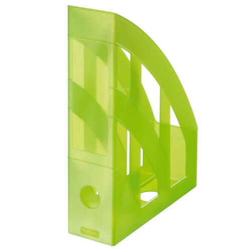 Herlitz Stehsammler A4-C4 classic transluzent Kunststoff Farbe wählbar