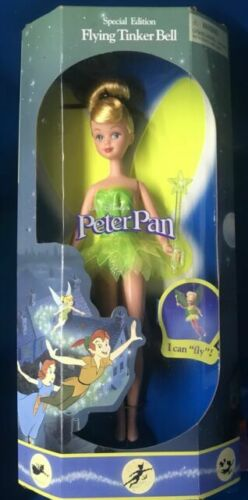 Disney Tinker Bell Classic Doll Peter Pan 11 /½ Inches