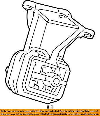 Chrysler Oem Engine Motor Mount 52121814ae