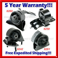 K005 Fit 93-97 Toyota Corolla 1.6L Engine & Trans Mount for Auto Trans (4pc Set)