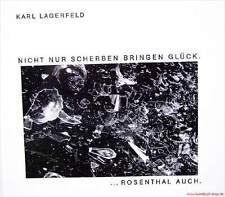 Libro especializado imagen banda karl lagerfeld fotografías de Rosenthal porcelana muy raras