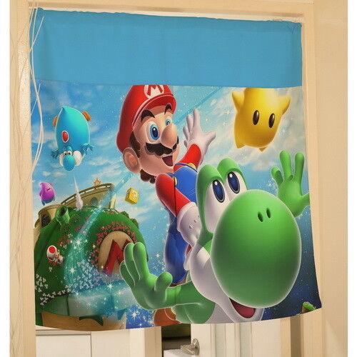 Super Mario Bros Yoshi Hanging Door Curtain Window Scarf y39 w2090