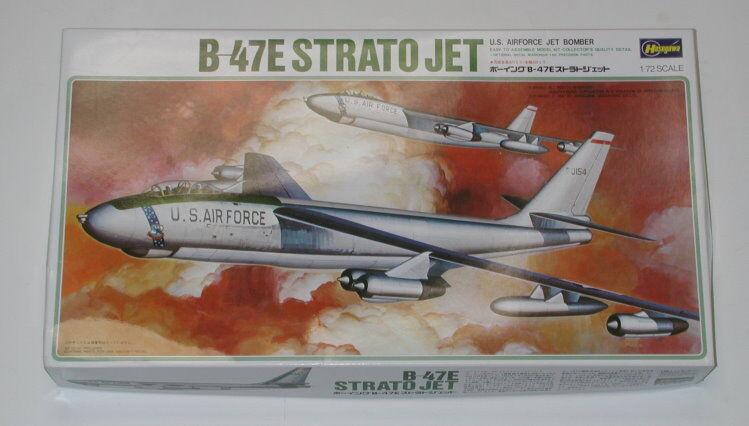 1 72 HASEGAWA BOEING B-47E STRATO JET MODEL KIT R3059