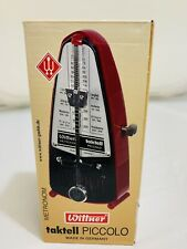 Wittner 834 Taktell Piccolo Metronome Ruby For Sale Online Ebay