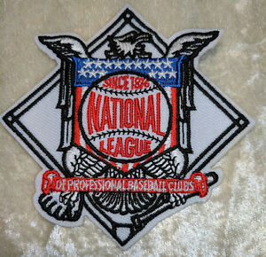 National-League-Baseball-3-25-034-Iron-On-Embroidered-Patch-US-Seller-FREE-SHIP