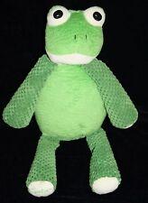 "Scentsy RIBBERT FROG 15"" Buddy Stuffed Animal Green Plush Soft Toy No Scent Pak"