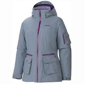 marmot slopeside insulated waterproof jacket nwt womens