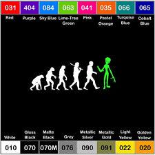 Evolution Alien V2 Vinyl Decal Outer Space Sticker Window Car