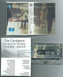 CASSETTE TAPE THE CARDIGANS First band on (Trampolene 96 CHINA) unique cv ins NM