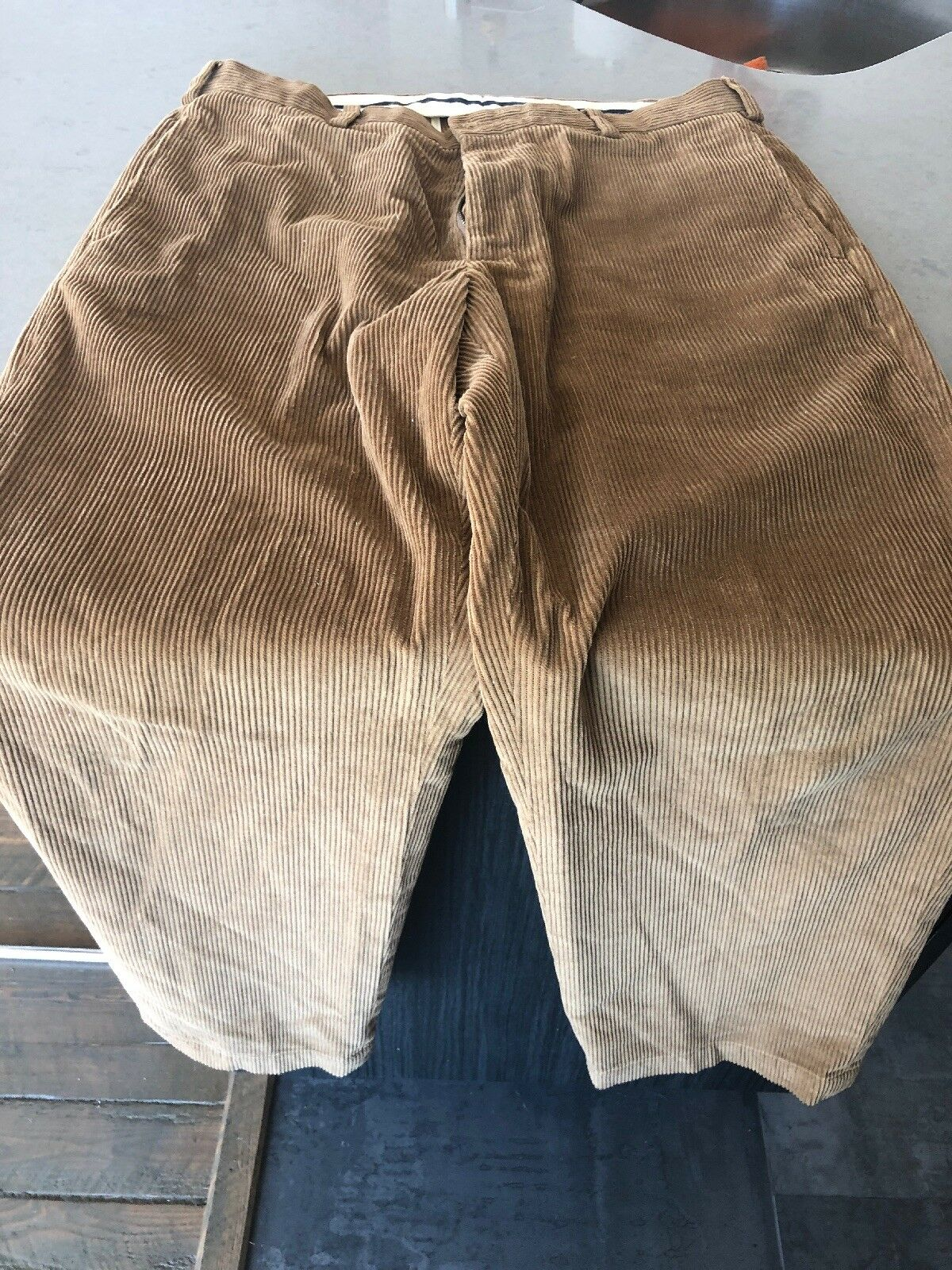 Mens Brooks Bredhers Corduroys Pants - Size 34 30 Brown - Mint condition