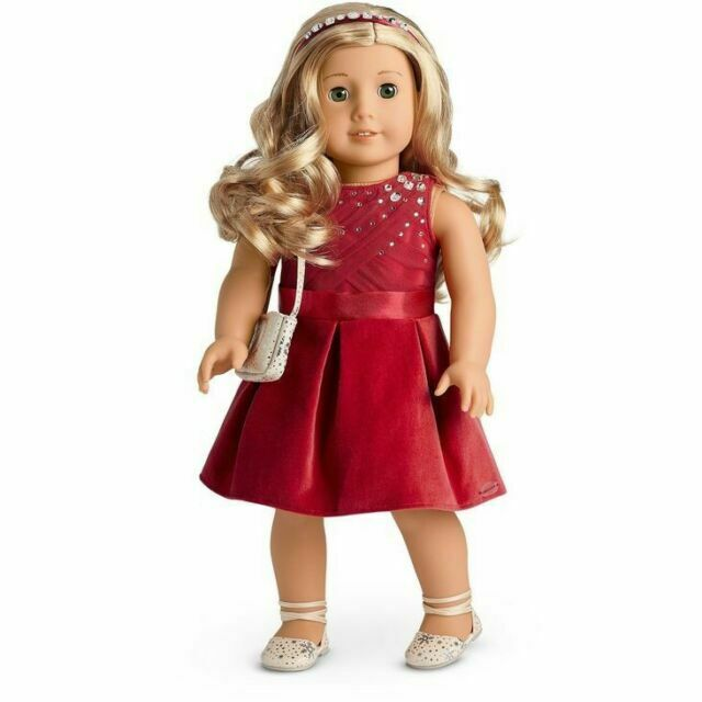 New in Box American Girl Tis The Season Party Dress