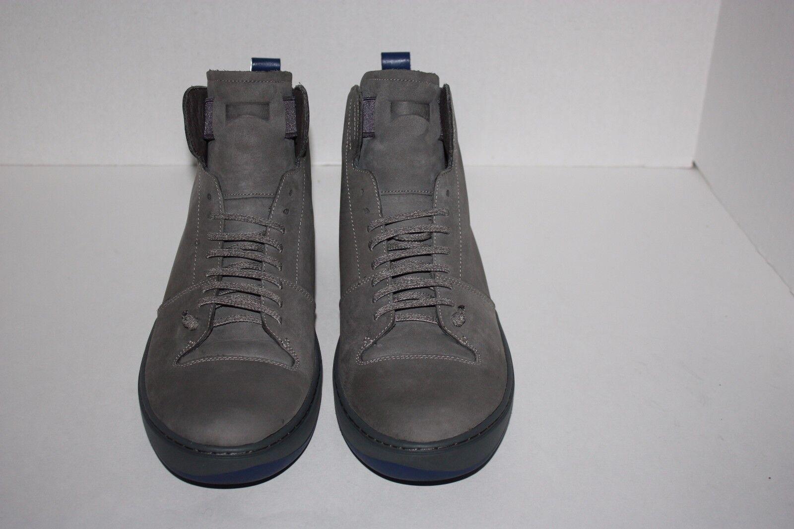 460f213785d8 ... Mens CAMPER CAMPER CAMPER Domus Gray Leather Ankle Boots Size 43   US  10 6e8473 ...