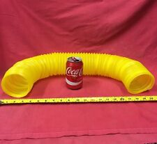 Amarillo Twist Bendable Túnel Elástico Resistente Tubo Hurones Ratas hámsters 18-75cm