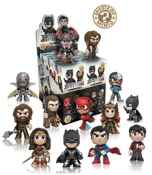 Dc Comics Mystery Minis Justice League Movie Case of 12 Funko