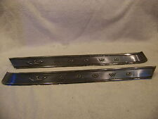 1964 CHRYSLER CROWN IMPERIAL ROOF PILLAR EMBLEMS 65 #2480076 & 2480077