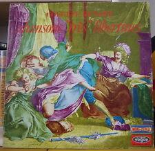 "COLETTE RENARD ""CHANSONS TRES LIBERTINES"" FRENCH LP VOGUE 1967"