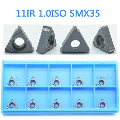 10pcs (CK)11IR 1.0 ISO CNC TOOL Carbide INSERT FOR steel cast iron