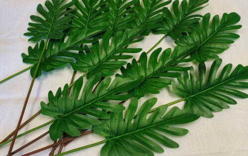 59cm LARGE LEAF Philo Green Ivy Leaf Rose Foliage Plant Artificial Leaf Vine5