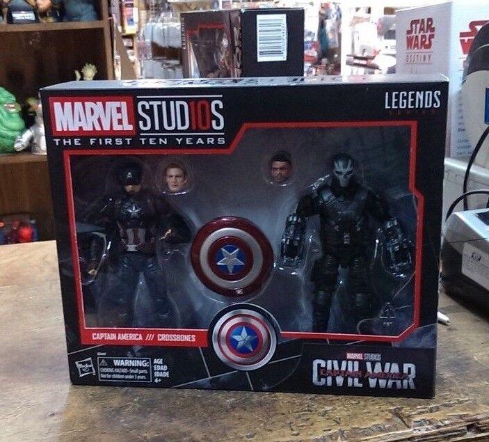 Marvel Legends Studios First Ten 10 Years Civil Civil Civil War - Captain America Crossbones ca3e44