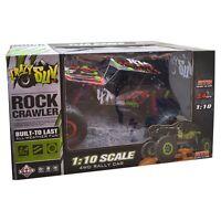 Modern 1/10 Scale 2.4ghz 4 Wheel Drive Rock Crawler Radio Rc Car Kids Toy Gift