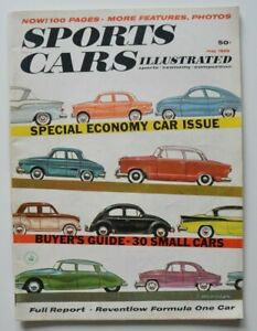 SPORTS-CARS-Illustrated-May-1959-BUYERS-Guide-Austin-A40-TR10-Wagon-Dauphine