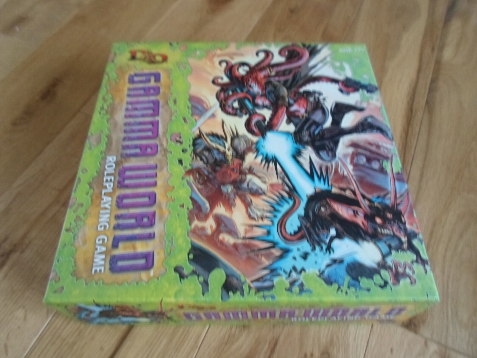 Complete Gamma World Roleplaying Game RPG  Rare Collection Collection Collection in Great Condition  40819c