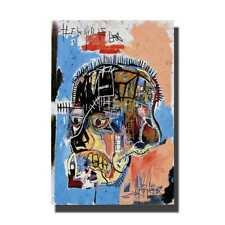 W832 Jean Michel Basquiat Horn Players Poster Fabric 8x12 20x30 24x36
