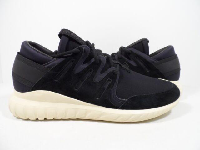 arrives 2b00a 69749 Adidas Originals Men s Tubular Nova Premium Running Shoes Black White Size  11.5