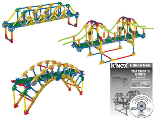 Bridges K/'NEX Education STEM Building Construction Introduction to Structures