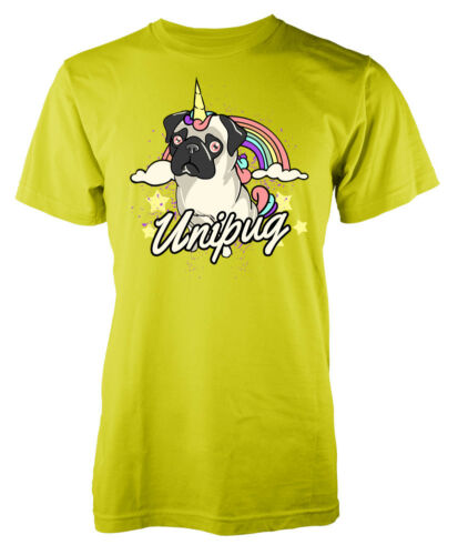 Unipug Unicorn Pug Fantasy Dog Mashup Kids T Shirt